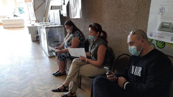 В Крыму туристы голосуют прямо в санатории, там открыли избирательный участок. ФОТО
