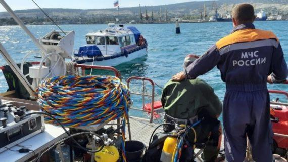 В Крыму уничтожают боеприпасы с затопленного судна «Жан Жорес»