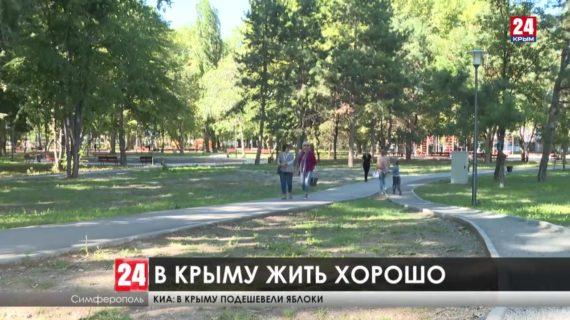 Цифры говорят. Больше 77% крымчан довольны жизнью. Какие ещё показатели описывают жизнь Республики