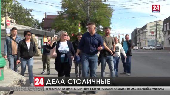 Глава администрации Симферополя встретился с жителями