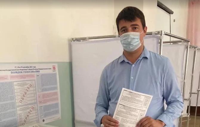 Селимов: крымская молодежь активно участвует в выборах
