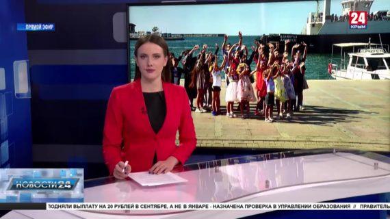Команда шоу «Таланты» в поиске новых юных звёзд приехала в Севастополь