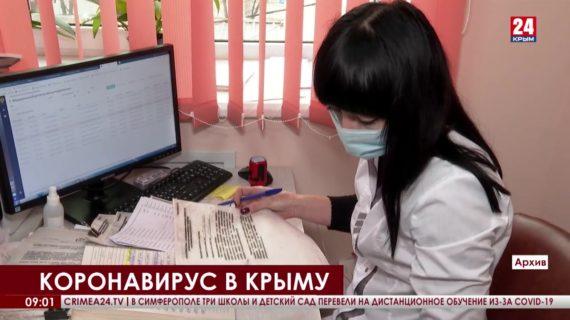 За прошедшие сутки в Крыму зарегистрировали 552 новых случая коронавируса