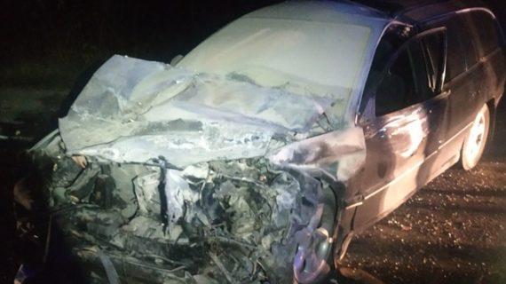 В Белогорском районе лоб в лоб столкнулись две легковушки