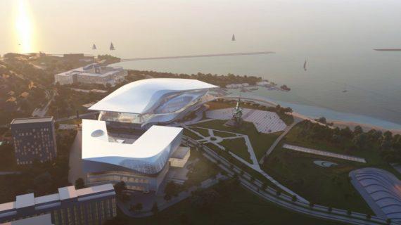 Австрийский архитектор представил проект музейного комплекса на мысе Хрустальный