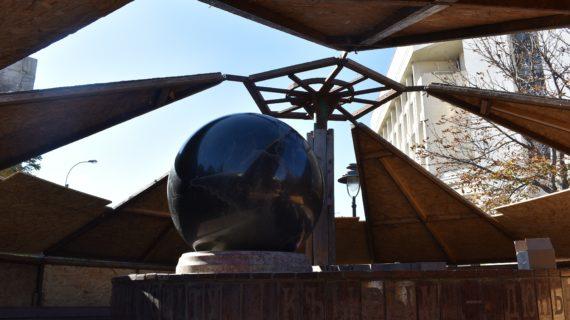 В Симферополе начали консервировать фонтаны на зиму