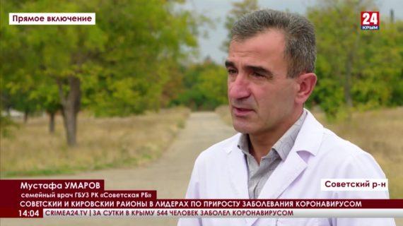 Советский и Кировский районы в лидерах по приросту заболевания коронавирусом