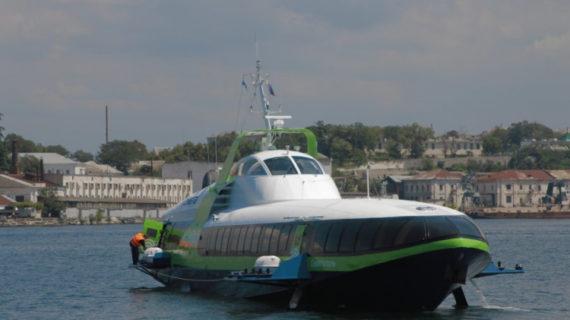 В Севастополе приостановили морское сообщение с Ялтой