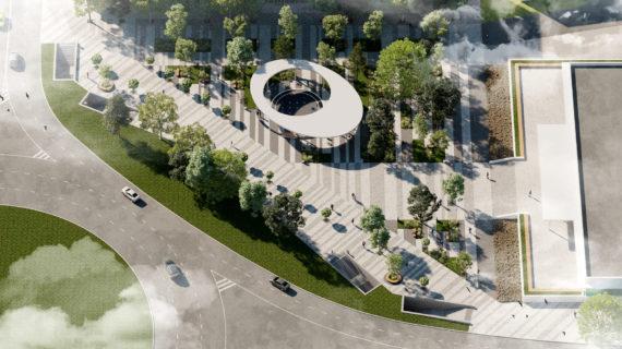 В Симферополе на площади Куйбышева отремонтируют фонтан