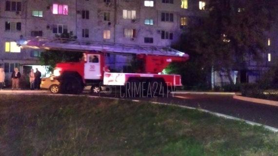 В одной из многоэтажек Армянска произошёл пожар