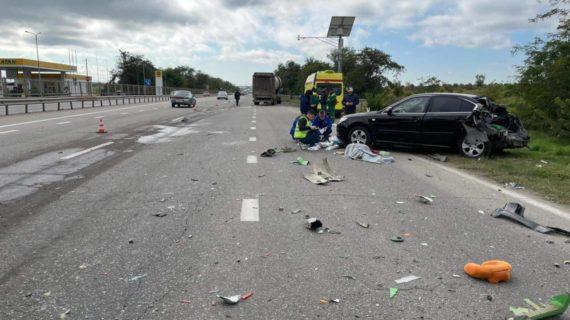 В Симферопольском районе произошло смертельное ДТП