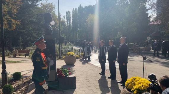 В Симферополе открыли бюст разведчику Дмитрию Быстролётову