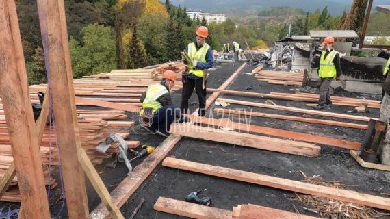 В Ялте на ремонт пострадавшей от пожара многоэтажки потратят почти 20 миллионов рублей
