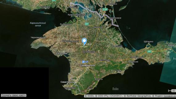 Поверхность Крыма прозондируют из космоса