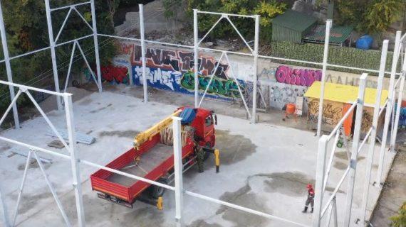 В Ялте откроют модульный зал для занятий гимнастикой