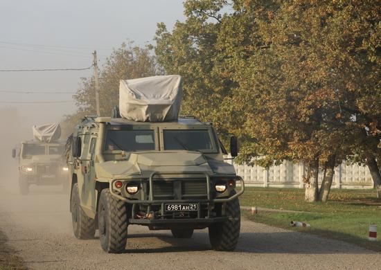 Более 2 тысяч военнослужащих с Кубани отправились на учения в район полигона Опук в Крыму